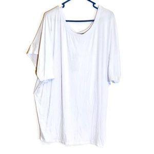 3/25$ Lock & Love Premium Women's White Tee XXXL